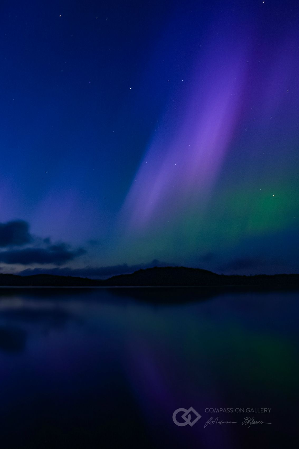 Ray Majoran - Aurora Borealis (Northern Lights) Photo