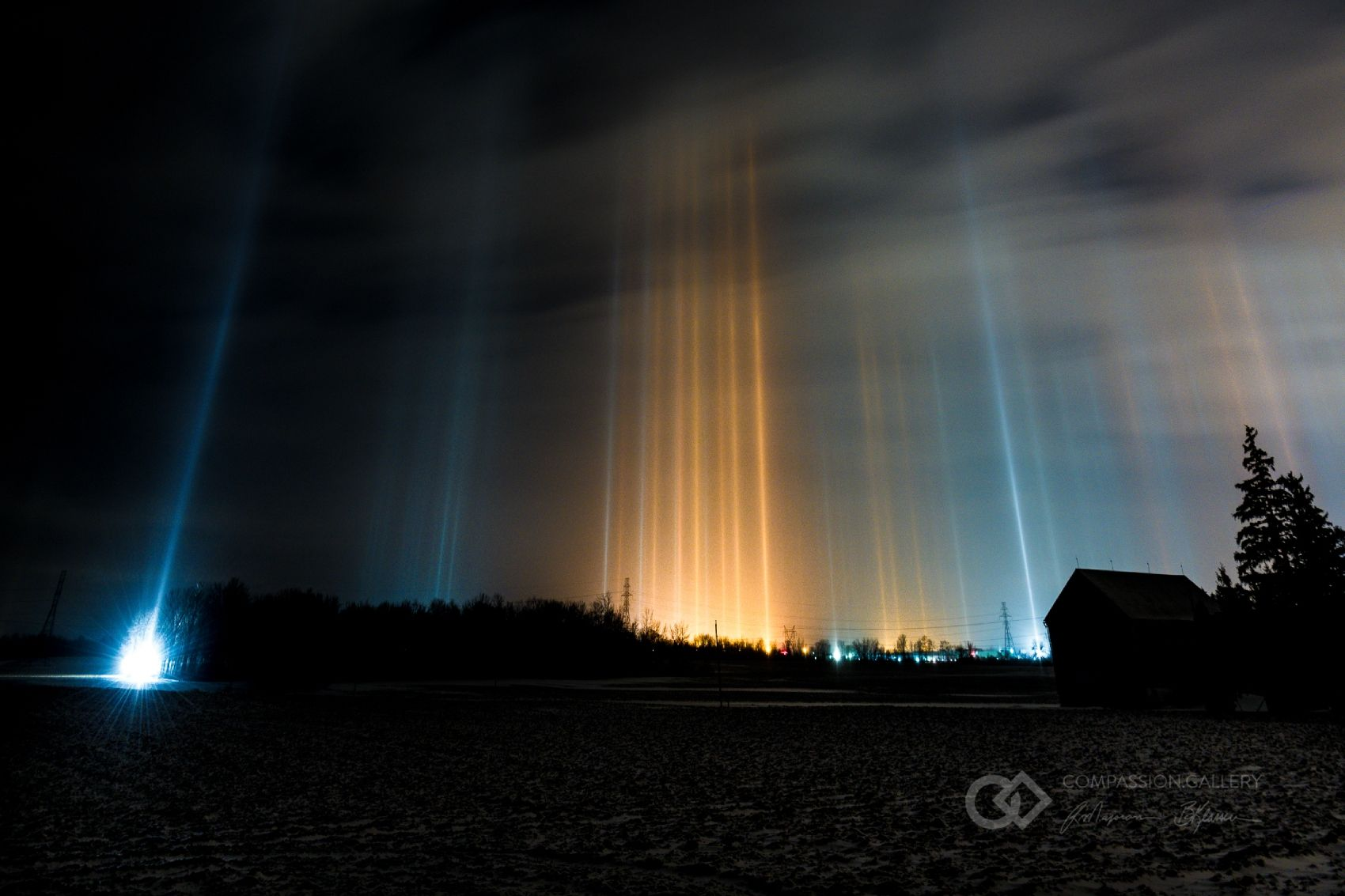 Light Pillars & Sundogs